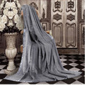 Grey champagne color Nature Healthy 100% mulberry silk blanket queen size 180 x 220 cm King size 200 x 230 cm 2 kg on sale