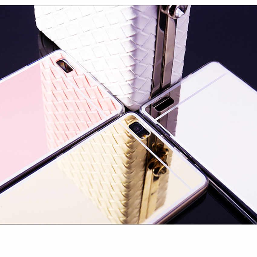 Роскошное зеркало ТПУ чехол для Huawei P10 P8 P9 Lite Коврики 9 8 GR5 2017 Y6 II задняя крышка для НУА Вэй слава 6X5X8 7/P9/Nova/G9 Plus чехлы