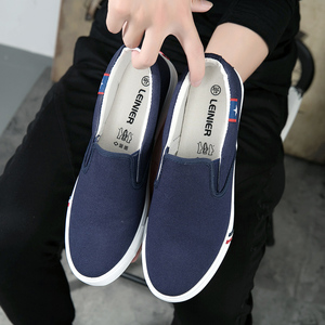 Image 5 - Autumn Slip On Women Canvas Shoes Woman Loafers 2019 New High Quality Classic Casual Flats Female Vulcanized Shoes Size 35 44