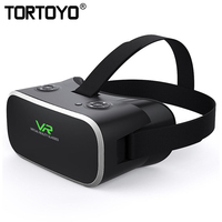 All in One VR Glasses Virtual Reality 3D Helmet Immersive Movie Game 4 Core 2GB+16G Android 4.2 Bluetooth TF Card WiFi G Sensor