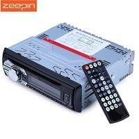 1563U FM Авторадио автомобиля 12 V Радио стерео MP3 плеер ЖК-дисплей цифровой Дисплей Поддержка SD AUX USB DVD VCD CD плеер с дистанционным Управление