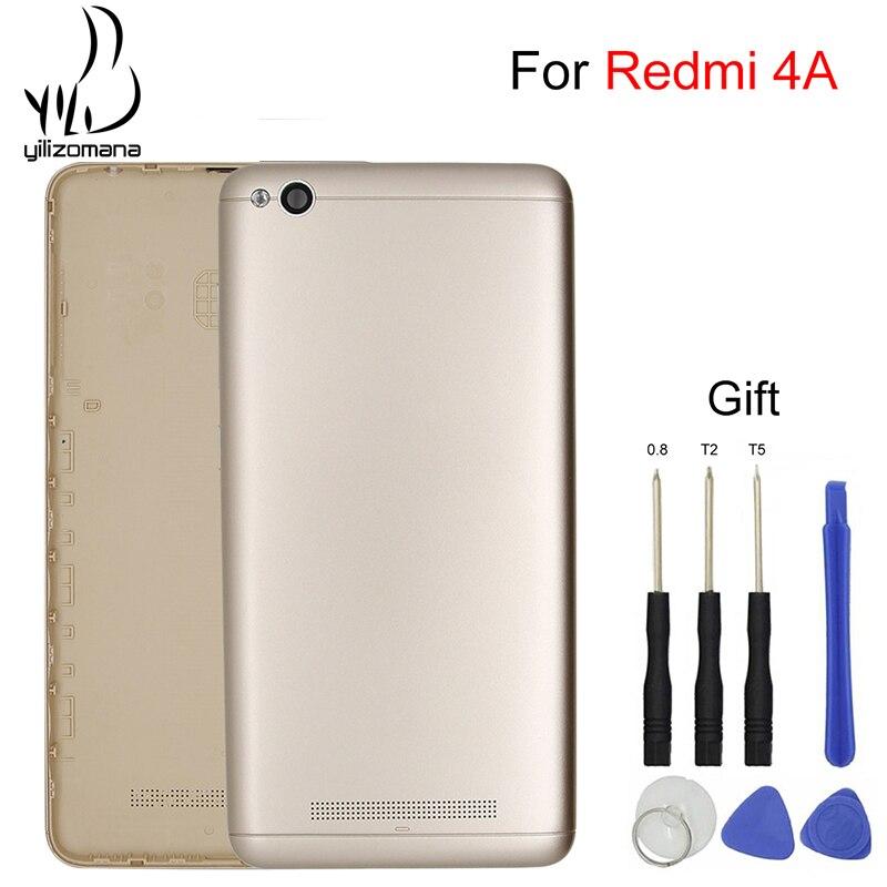 YILIZOMANA Back Cover For Xiaomi Redmi 4A Original Replacement Mobile Phone Battery Rear Door Housings Hard case