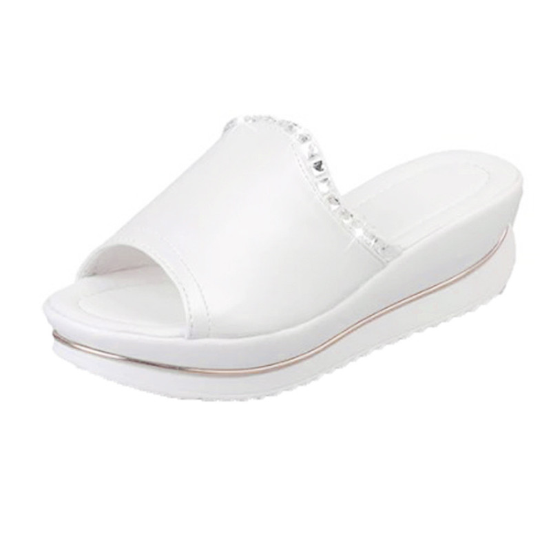 2018 New arrival Summer Comfort Sandals Slippers Women Platform Sandals Shoes Wedges Shoes mnixuan women slippers sandals summer