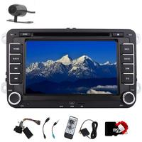 7 Car Stereo GPS Navigation dvd player In Dash headunit Car Radio Audio For VW CANBUS/Steering Wheel Control/Bluetooth+Camera