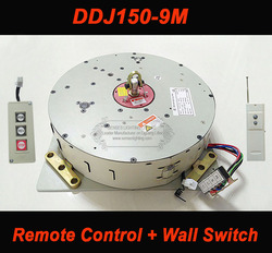 150KG 9M Wall Switch+Remote Controlled Lifter for Crystal Chandelier Light Lift Chandelier Hoist 110V-240V Free Shipping