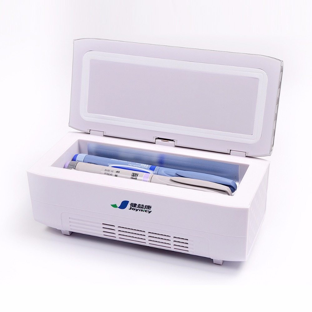 Portable Diabetic Insulin Refrigerator Box Travel Case Drug Reefer LCD Display CE 4000mAh extraposition lithium battery 24 hrs электрическая плита 50 55 см aeg 47005v9 wn