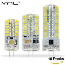 10PCS G4 Led Lamp DC 12V 220V 1w 2w 3w SMD 2835 3014 Angle Luz Bombillas Lampada de LED Lamp G4 Light Corn Bulb Spotlight Lamps