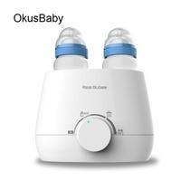 2019 Baby Feeding Bottle Warmer Heater Babyfood Warm Universal Bottle sterilizer Marm Milk BPA Free 220V Electric Warmer Milk