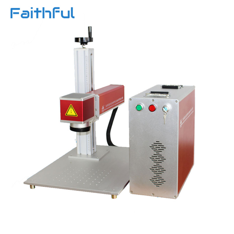 20W cook knife marking machine fiber laser marking machine price on electronic components