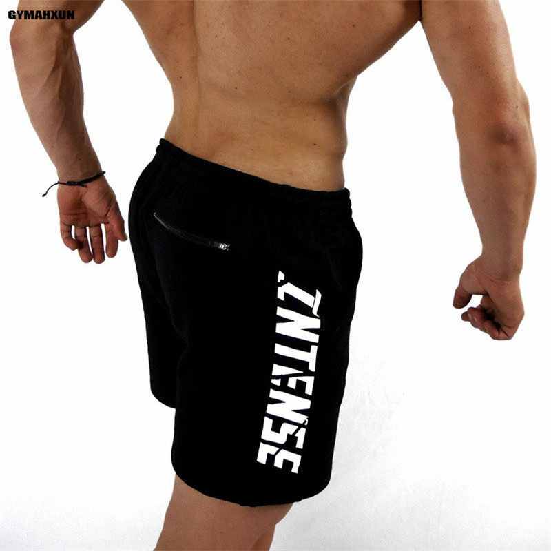 GYMAHXUN Brand New jogger sweatpants mens shorts Fashion casual Over knee Mens beach shorts gyms Fitness Sweatpants Sportswear