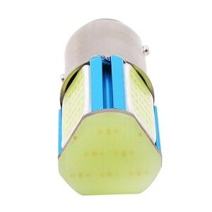 Image 4 - 1 sztuk DC 12 24V samochodów LED COB tylne żarówki świateł cofania tylny hamulec światła żarówki parkingowe szybsza reakcja brak promieniowania UV/IR