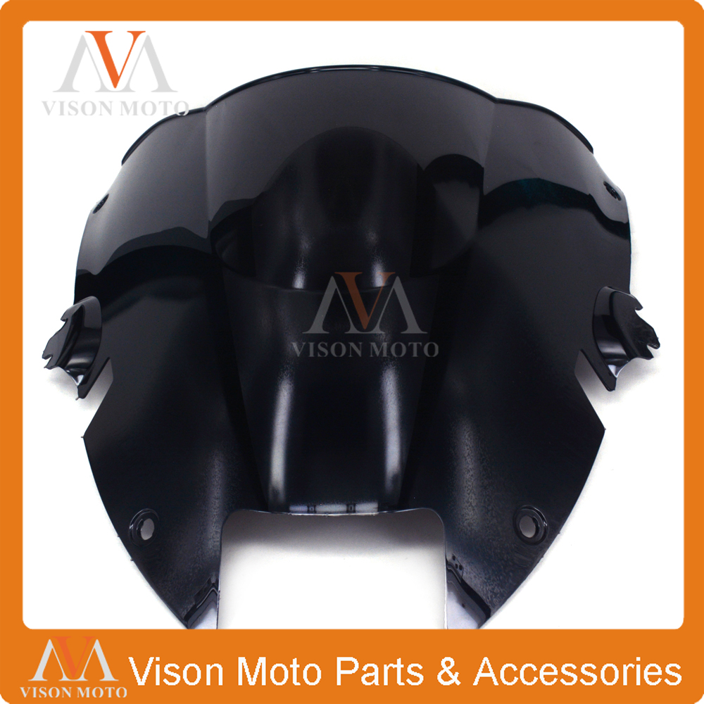Motorcycle Winshield Windscreen For HONDA VTR1000F VTR1000 VTR 1000 F 1997 1998 1999 2000 2001 2002 2003 2004 2005 97-05 прокладки клапанной крышки honda vtr1000f