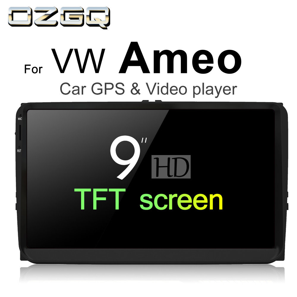 OZGQ Android 7.1 Car Player For VolksWagen VW Ameo 2016~2018 HD Screen Auto GPS Navigati ...