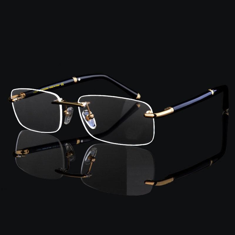Супер высокое качество роскошные деловые мужские оправы очки Рамка для человека очки оптическая рамка очки