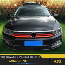 For Volkswagen Passat B8 2018 Car Styling Front Hood Middle