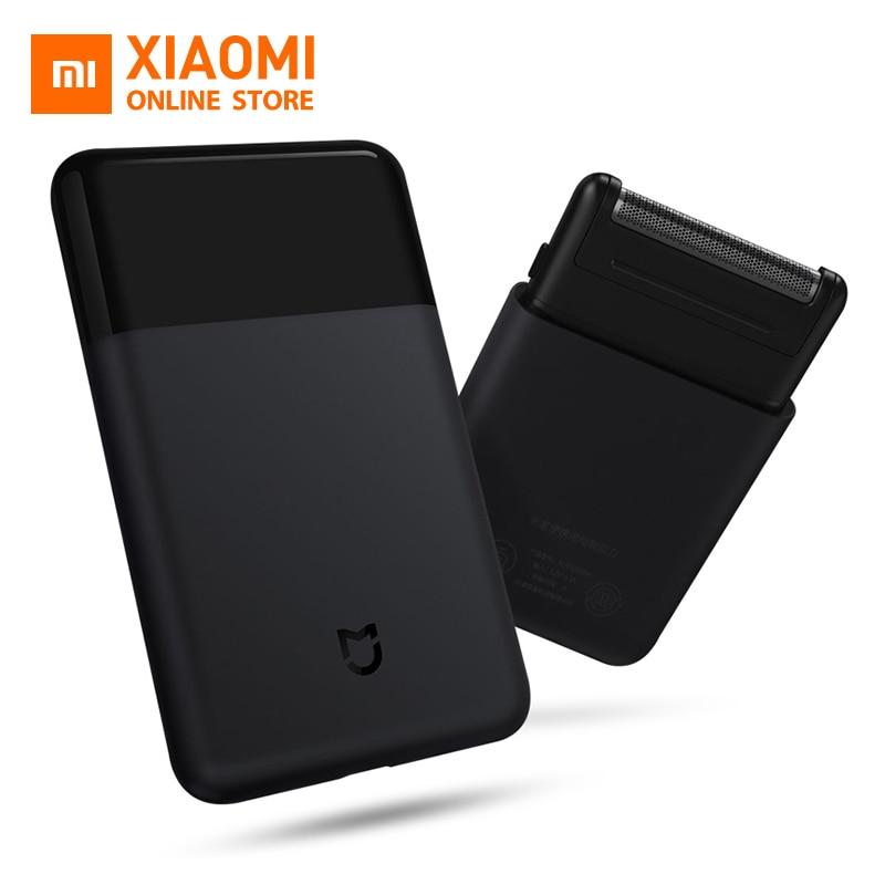 Original Xiaomi Mijia hommes rasoir électrique Portable Mini rasoir intelligent entièrement en métal tondeuse avec batterie de données pour hommes voyage rasoir