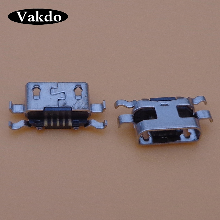 20pcs/lot Mini Micro <font><b>USB</b></font> Jack Female Socket connector charger <font><b>charging</b></font> <font><b>port</b></font> dock plug data 5 pin for <font><b>Nokia</b></font> <font><b>lumia</b></font> <font><b>625</b></font> 1320 image