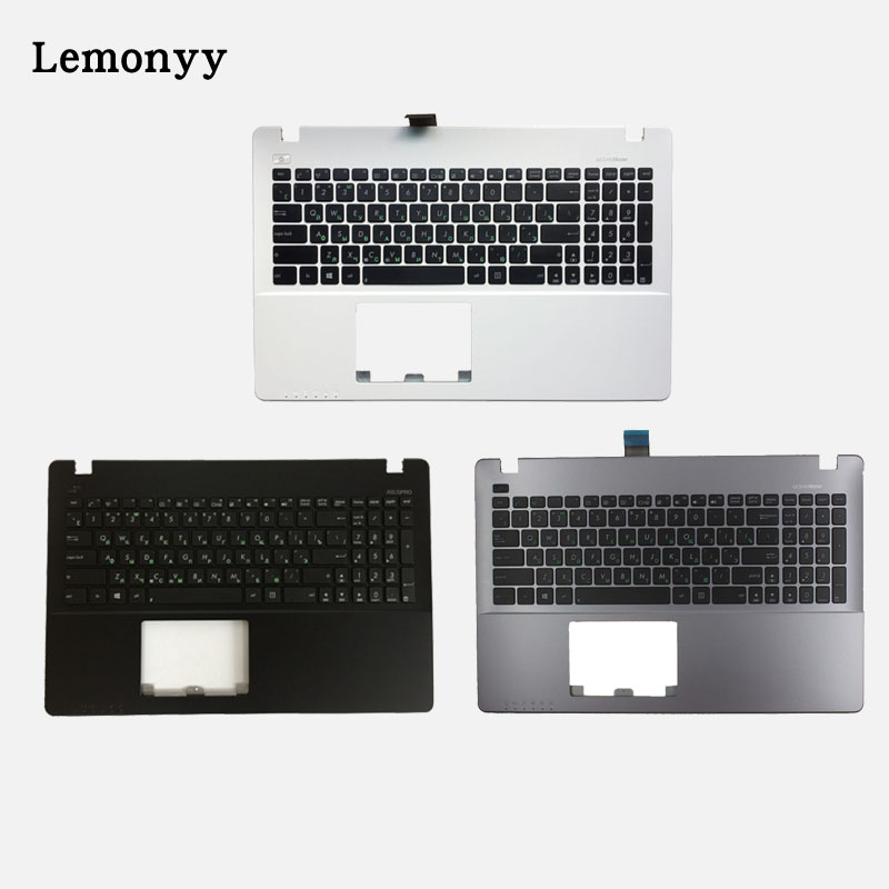 US Laptop Keyboard For Asus X550 K550V X550C X550VC X550J X550V A550L Y581C F550 R510L keyboard Palmrest Upper White/Gray quying 15 6 inch lcd matrix for asus x502ca x550c s550c a56c s56c k550d x550v y581c notebook laptop replacement screen page 9