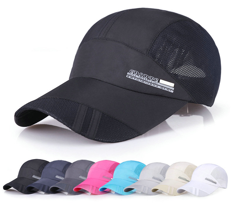 Mens Caps Unisex Baseball snapback Caps Cotton Lining Mesh Designed Quick Dry Sports Outdoors Cap hats for Women Golf Hat Female 2016 new arrival high quality snapback cap cotton baseball cap canada maple embroidery hat for men women unisex cap b350