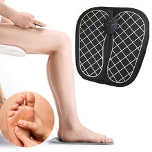 Electrode Pads Foot Massager EMS Stimulator Body Relax Physiotherapy Revitalizing tens Acupuncture Massageador Relieve Fatigue цены