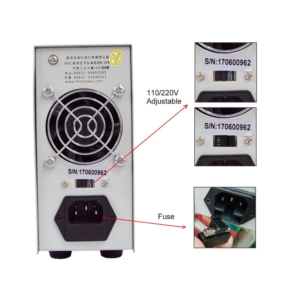 LW3010D DC alimentation 30 V 10A Mini réglable numérique DC alimentation à découpage 3 chiffres outil de réparation de laboratoire - 5