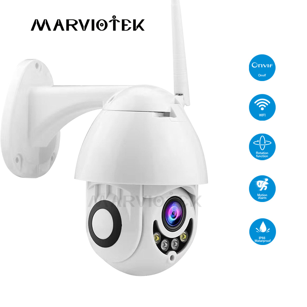WIFI IP Camera Outdoor CCTV Camera 1080p Mini Speed Dome Home Security Cameras PTZ Exterior IR