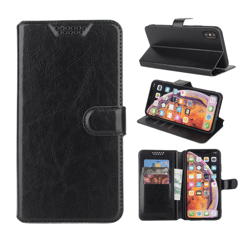 Case for <font><b>Motorola</b></font> Moto <font><b>E4</b></font> Plus XT1770 XT1773 Luxury Leather Wallet Flip Cover for Moto <font><b>E4</b></font> <font><b>XT1762</b></font> XT1766 Silicon Soft Back Cover image