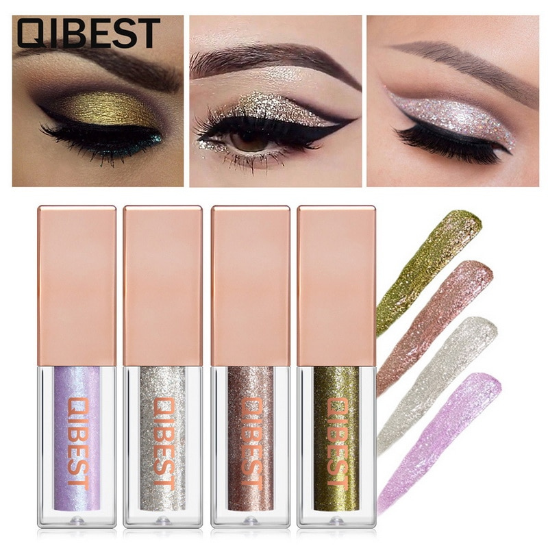 Friendly Liquid Eyeshadow Makeup Eye Shadow Halloween Limited Shimmer Metallic Edition Pearl Light Shiny Maquiagem Cosmetics Eye Shadow