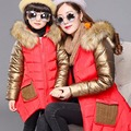2016 Winter Casual Matching Family Clothes For Mother Daughter Women Coat Girls  Coats Mother And Daughter Clothes  High quality