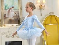 2017 New Children Kids Cotton Dance Clothing Professional Ballet Tutu Gymnastics Leotard Girl Dance Costume Vest