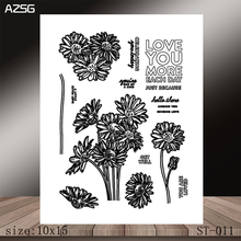 AZSG LOVE YOU MORE Clear Stamps/Stamp/For Scrapooking/Card Making/Silicone Stamps/Decoration  Crafts