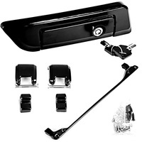 Gloss Black Tour Pak Hinges&Latch Kit&Tour Pack Lid Tether For Harley Touring Road King Road Glide 2014 Later