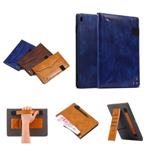 For Apple iPad 10.5 Case PU Leather tpu Slim Flip painted Cover wallet flower Holder  inch