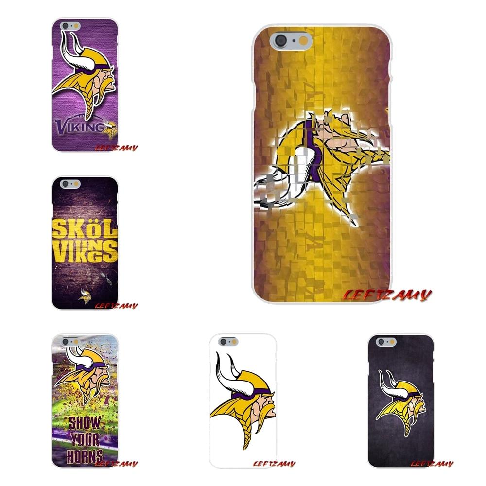 Minnesota Vikings Slim Silicone phone Case For Motorola Moto G LG Spirit G2 G3 Mini G4 G5 K4 K7 K8 K10 V10 V20