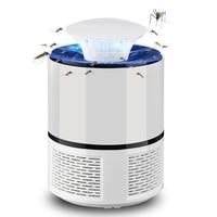 JJBS 2018 New Smart LED UV Electric Mosquito Killer Lamp USB Charge Noiseless White|Repellents| |  -