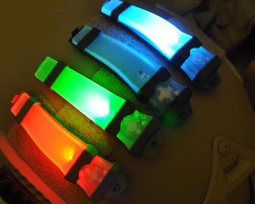 Prix pour V-Lite E-Lite Blink Signal Lumineux Deux Modes Pour NVG Utilisateur Tactique Casque Armée Vélo Hommes En Plein Air sport Skate Chasse Capacete
