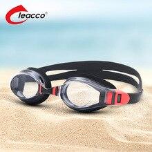 Optical Swimming Goggles Prescription Anti-Fog UV Myopia Swim Glasses Waterproof Silicone Adult Eyewear