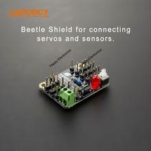DFRobot 100% Original Beetle (controller) shield / Expansion board V1.2 for connecting servos and sensors Modules