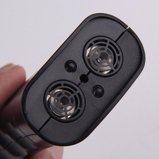 125db Portable Ultrasonic Dog Chaser Aggressive Animal Attack LED  Self Defense Device