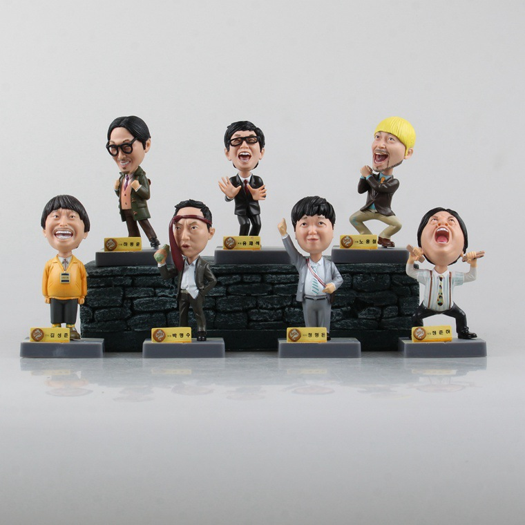 Korea Stars 1/10 scale painted figure PVC Action Figure Collectible Model Toy Dolls 9cm 7pcs/set KT1301 soccer figurine football stars competition classic brazil cup world cup model toy action figure ornament dolls collectible gift