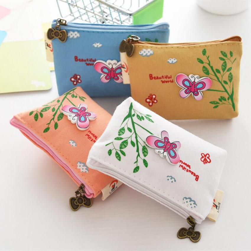 M169 2017 Cute Women Purses Chinese Style Bow Tie Fabric, Small Zero Wallet, Cute Mini Canvas Girl, Coin Key, Zero Wallet brand cute canvas coin purse women rabbit zero wallet teenagers girl vintage style key pouch sweet lady retro coins purses bag