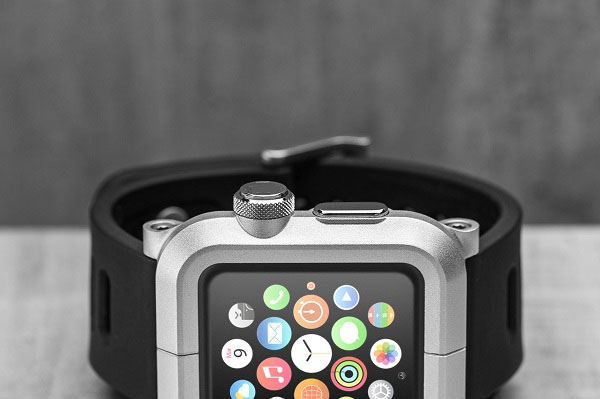 various colors 42f39 dcfa7 US $20.95 |Retail For Apple Watch Cover Aluminum Bracelet Watch Band Wrist  Protective Case For iWatch Apple Watch 42mm 38mm NO: AW04 on Aliexpress.com  ...