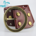 Free Shipping Yuzi  New Vintage Style  Irregular Rivet Fashion Women Belt OP-007