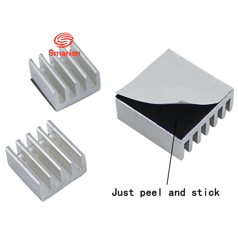 B B+ 2 Cooling Raspberry Pi 3 Model A+ Heatsink Set x 6pcs