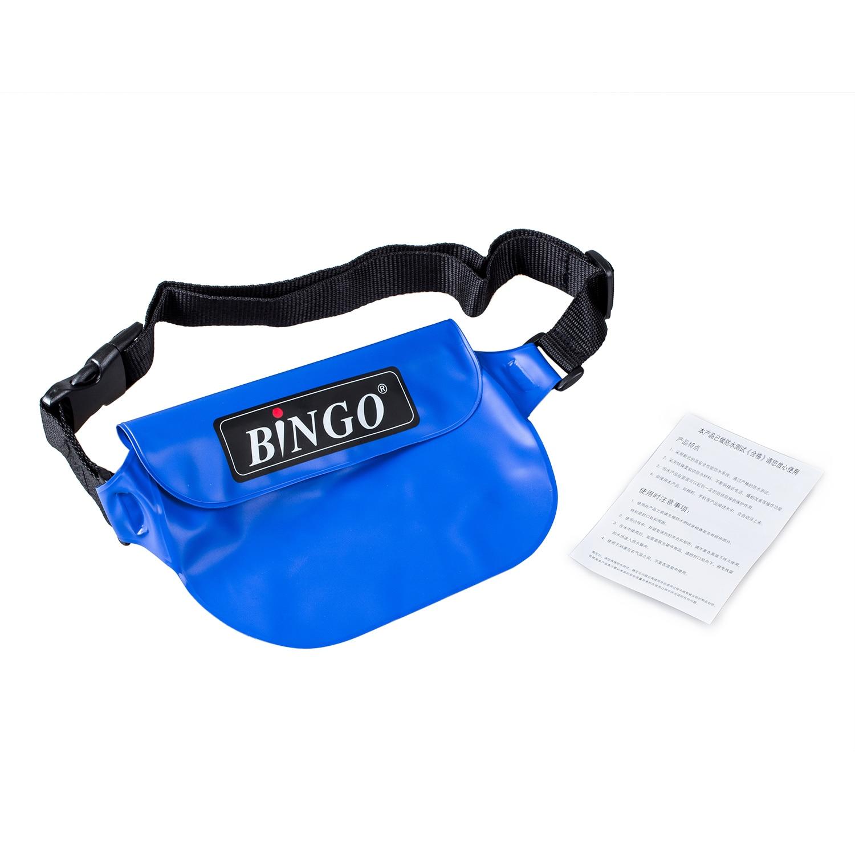 2X Waterproof Rafting Waist Packs Bag for Phone Wallet Purse Compact Camera(blue)