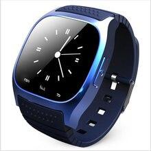 VIL M26 Bluetooth Relógio Inteligente relógio de pulso de luxo Do Esporte À Prova D' Água com Dial SMS Lembre Pedômetro para Android Samsung xiaomi telefone