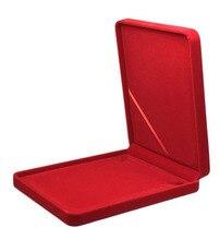 19x24x4cm גדול גודל קטיפה תכשיטי תיבת שרשרת תיבת אריזת מתנה יותר צבעים לבחירה