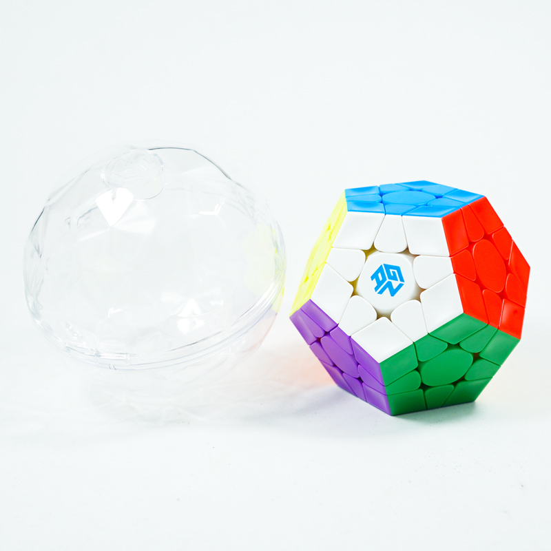 Gan 3x3 Megaminxeds 12 Lados Enigma Stickerless Velocidade Cubo Mágico Profissional Cubo Magico Brinquedos Educativos Para Crianças