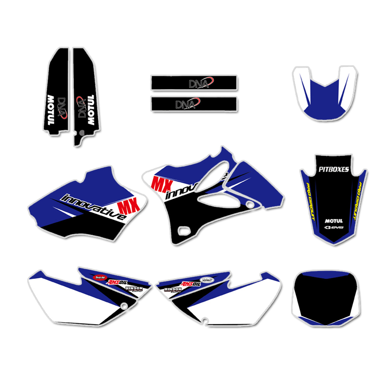 GRAPHICS & BACKGROUND DECAL STICKER Kits For Yamaha YZ85 YZ 85 2002 2003 2004 2005 2006 2007 2008 2009 2010 2011 2012 2012 2014