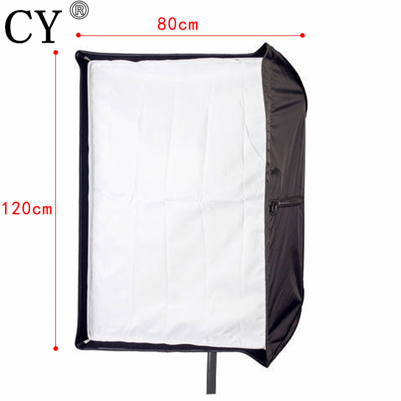 Photo Studio 80 cm x 120 cm/32 * 48 Parapluie Rectangle Softbox Photographie Studio Soft Box Lightbox Pour Flash/Flash